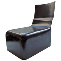Сиденье С1 изогнутая спинка